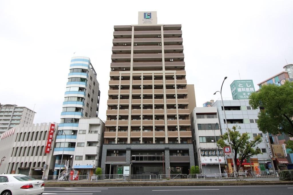 新開地駅より徒歩約1分!築浅・デザイナーズマンションです!